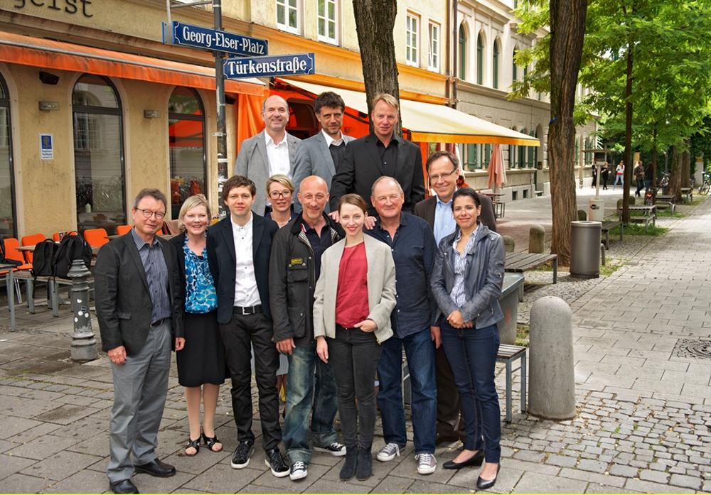 Drehstart für den Film Georg Elser in München | © SWR-Pressetelle / Fotoredaktion_Fr