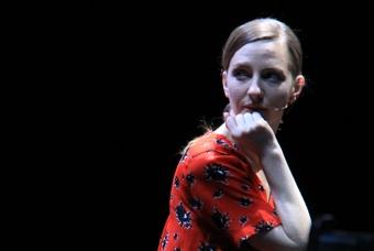 Katharina Schüttler beim Brechtfestival 2015 in Augsburg |© Diana Deniz